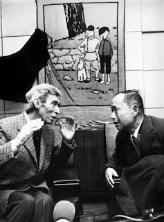 Hergé Reunites with Chang in March of 1981
