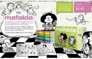 Mafalda con Clarín