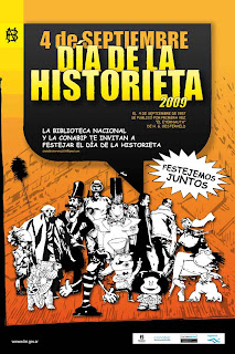 Da de La Historieta 2009 en la Biblioteca Nacional