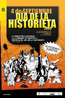 Día de La Historieta 2009 en la Biblioteca Nacional