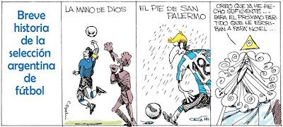 Historia del Selección Argentina por Pachi
