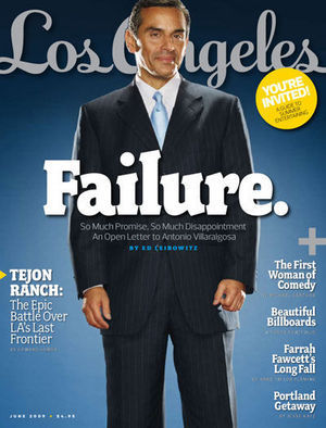 THE FACE OF FAILURE AND CORRUPTION  - MAYOR ANTONIO (TONY VILLAR) VILLARAIGOSA