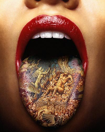 Can a tongue really be tattooed? It wouldn't surprise