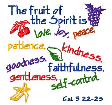 Fruits Of The Spirit Clip Art Free