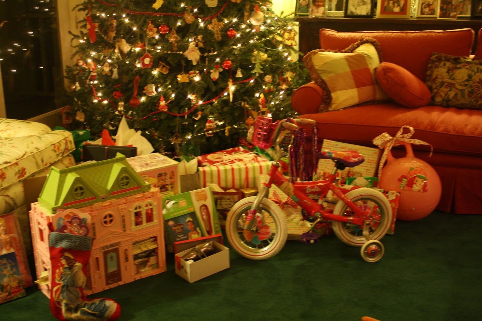 Toys Under Christmas Tree : Life with the lamberths christmas part