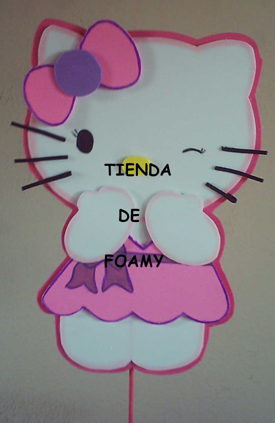 Pin Tienda Foamy Centro Mesa Mini Dispensador Hello Kitty on Pinterest