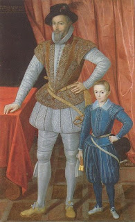 Walter Raleigh and son Wat