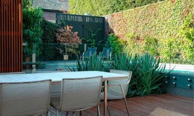 Interior Design Garden and Modern Architecture Lifestyle