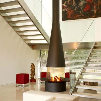 Modern Interior Design Fireplace