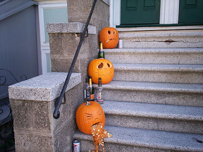 Outdoor Helloween Decorating Ideas