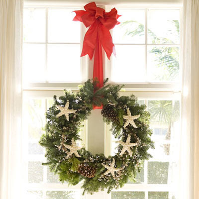 Easy simple christmas decorating modern interior design Simple christmas wreaths