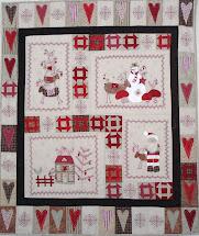 Scandinavian Christmas Quilt