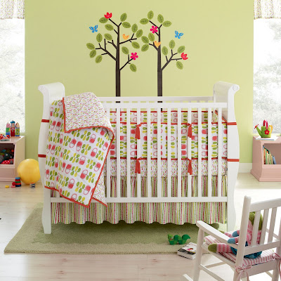Celebrating Today: Baby Girl Nursery Ideas