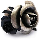 bisuteria creativa anillo rosas