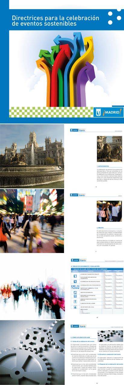 Guía de directrices para la celebración de eventos sostenibles de la Comunidad de Madrid 2010