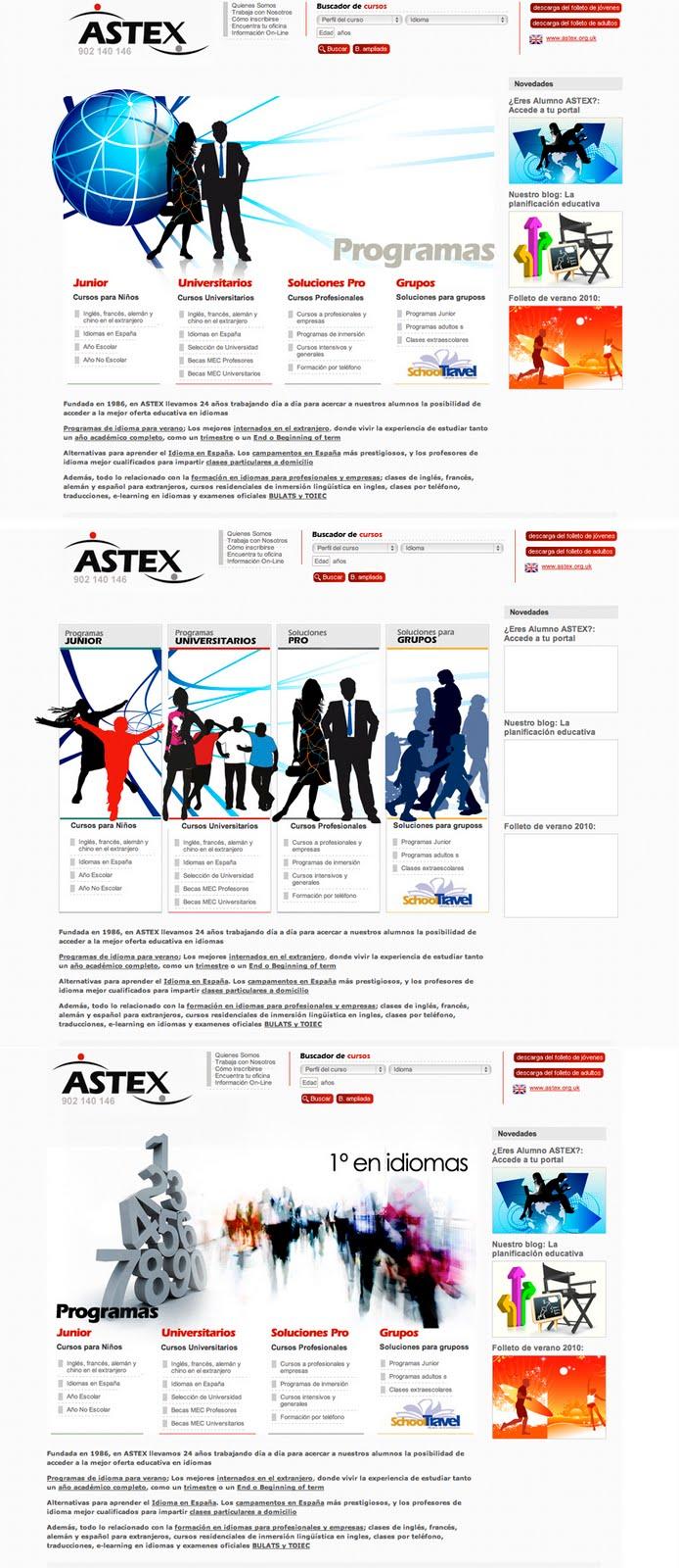 Portal Web Astex (en construcción)