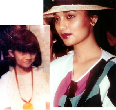 Chikita Fawzi dan Ibunya Marissa Haque