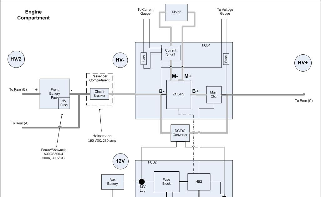 electric vehicle conversion electro wiring diagrams take 3 simplification