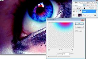 Tutorial Photoshop - Foto Efek Pada Mata
