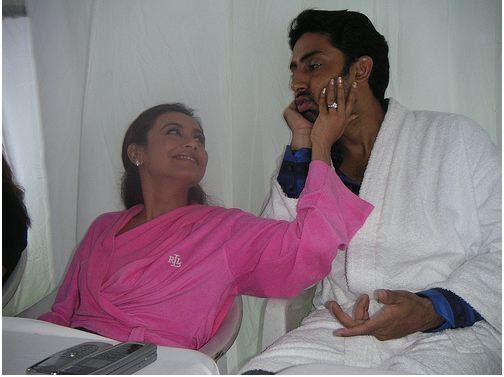 scandals rani mukherjee and abhishek bachchan unseen picture