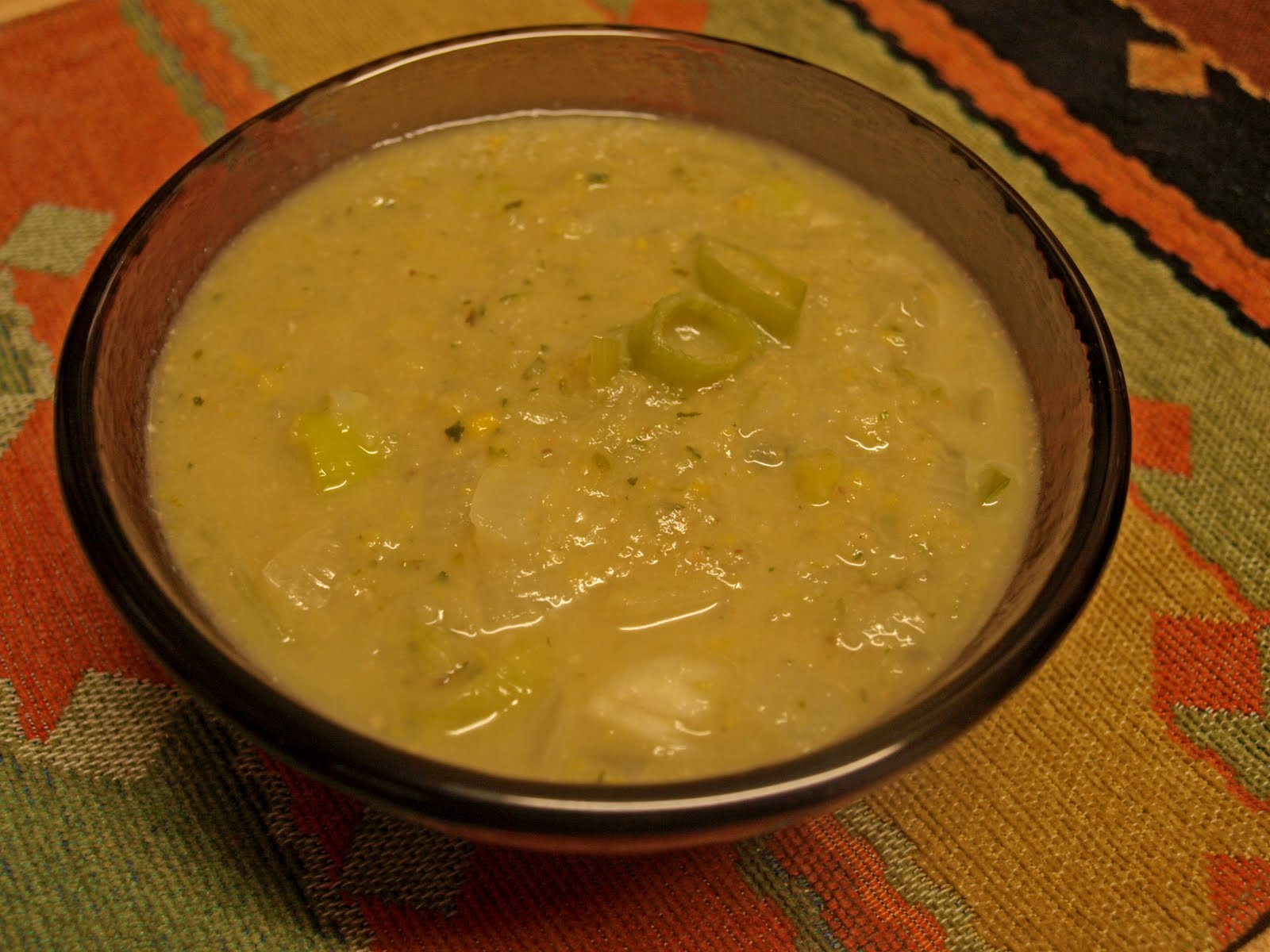 Grain-Free Foodies: Roasted Garlic and Zucchini Soup