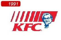 Kfc Logo 1991 In 1991  it used the highKfc Logo 1991