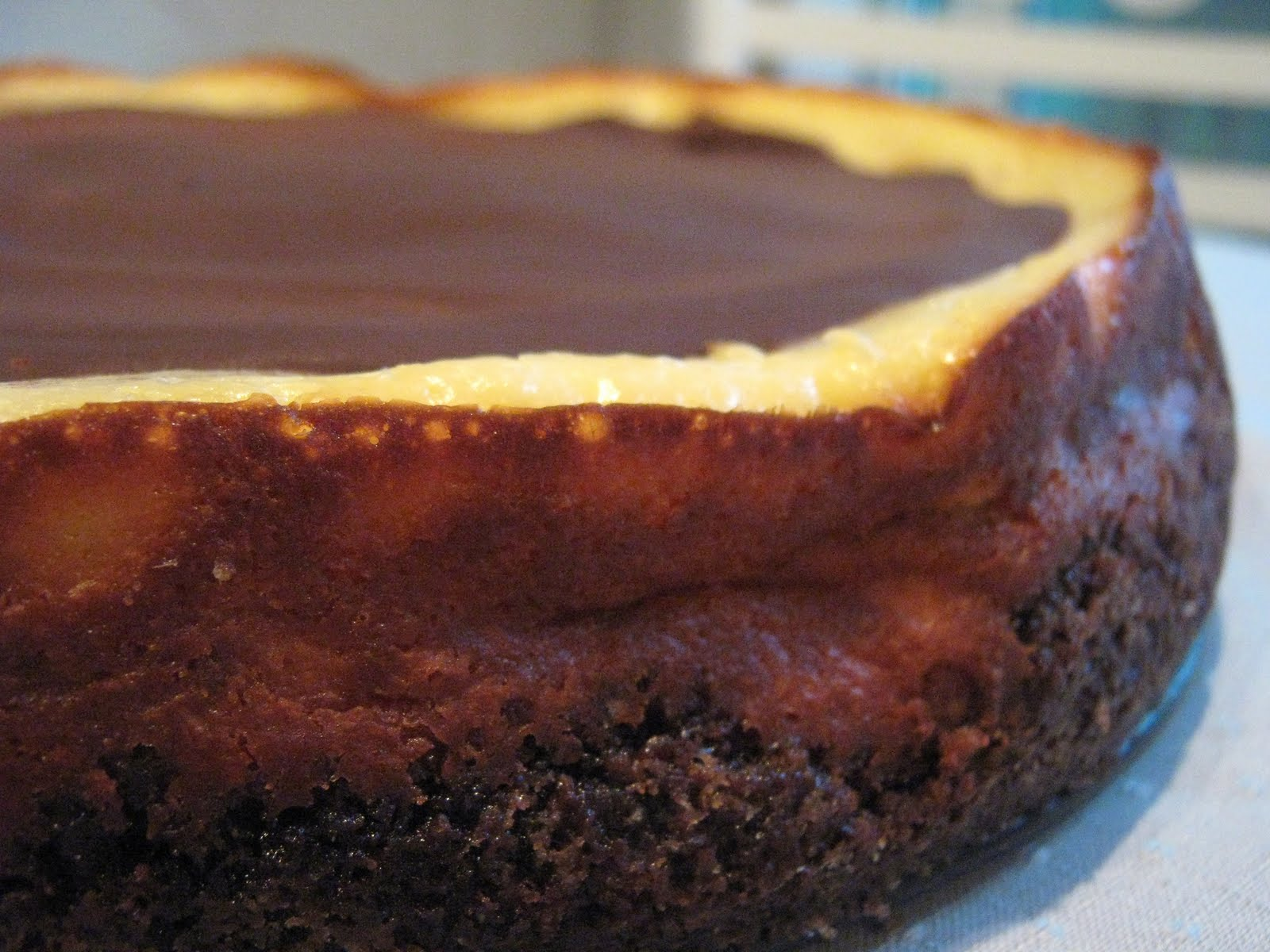 Baking and Mistaking: Brownie Mosaic Cheesecake