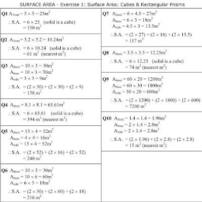MathsOnline Answers