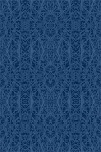 Blue Barrel Cactus Pattern