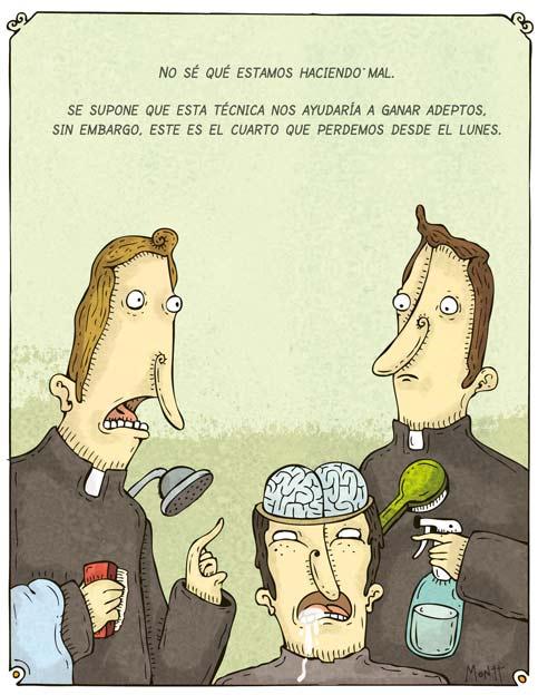 Humor gráfico sobre las religiones y dioses - Página 2 Lavado