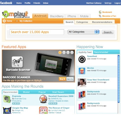 Mplayit launches in Facebook Android app directory