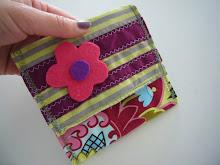 carteira flor em risca Ref.: #031