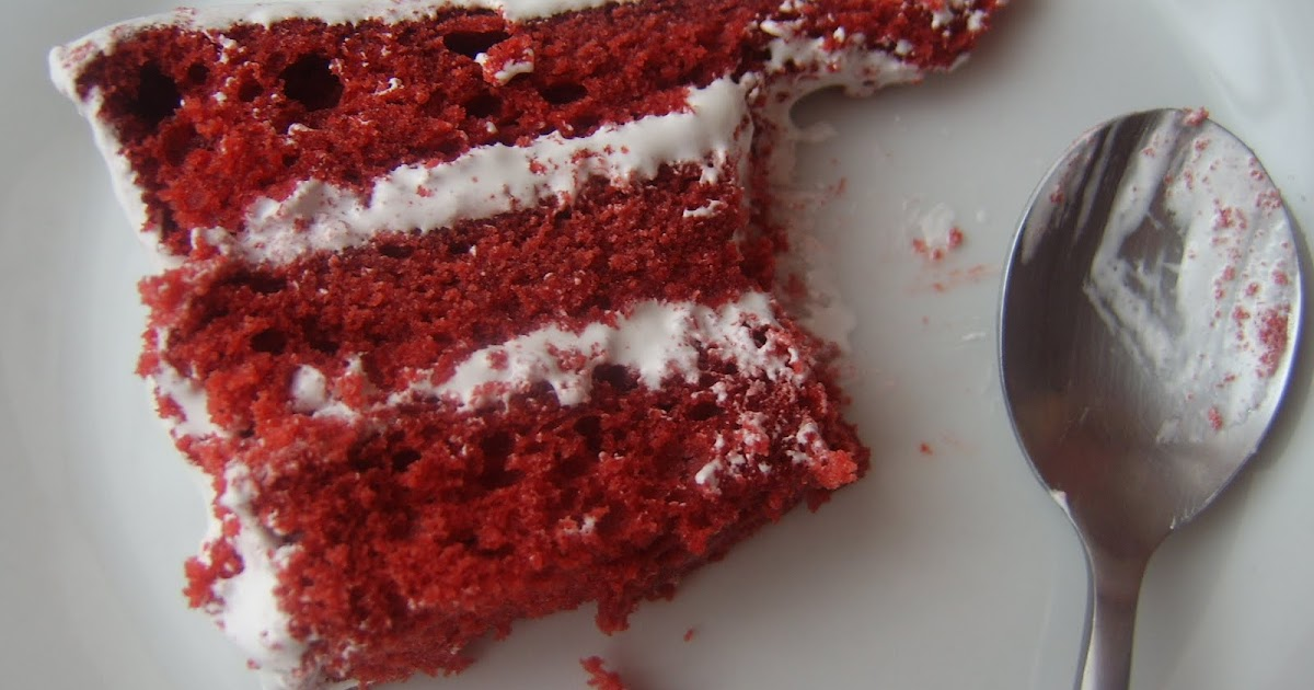 Mis Recetas Bordadas: RED VELVET CAKE