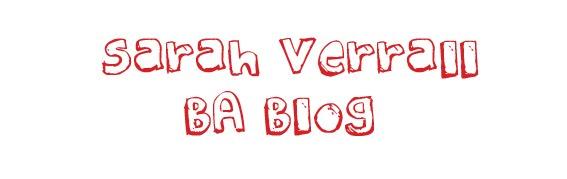 Sarah's BA Blog