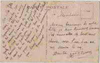 Un Diamant Brut: carte postale de la mère d'Yvette