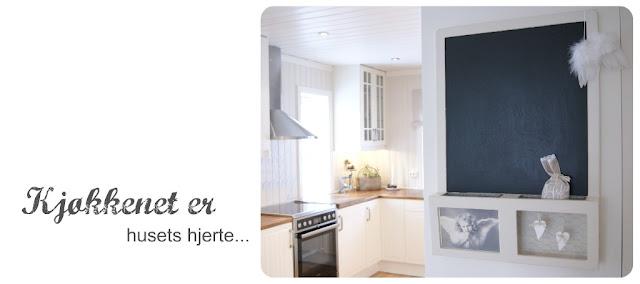 Frøken h: kjøkkenet er husets hjerte ♥