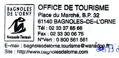 Brevet des provinces fran aises bpf bcn 45 bagnoles - Office du tourisme de bagnoles de l orne ...