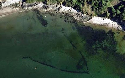 1 1,000 year old fishing trap found on Google Earth