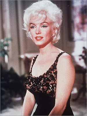 MARILYN MONROE: Died in 1962 be...
