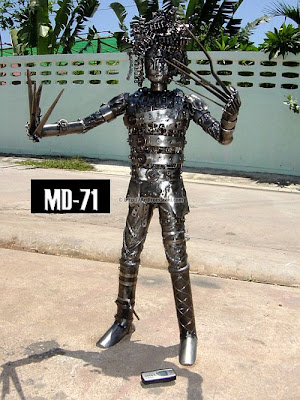 art from steel 45 Hand Made Recycled Statues