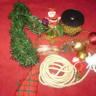 Navidad: Corona para puerta principal de casa