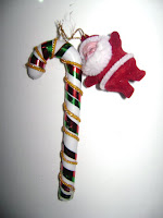 Como hacer un Bastón para arbol navideño