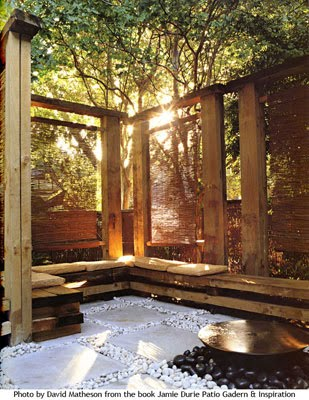 Renovation planning hardwoods in the garden jamie durie for Jamie durie garden designs