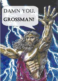 Zeus hates Rex Grossman
