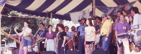 Sloop Singers 1988 Great Hudson River Revival, Croton on Hudson, NY