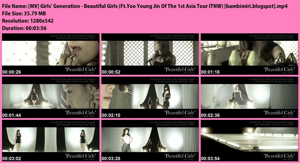 girls generation beautiful girls