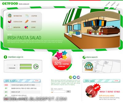 Download GetFood Template