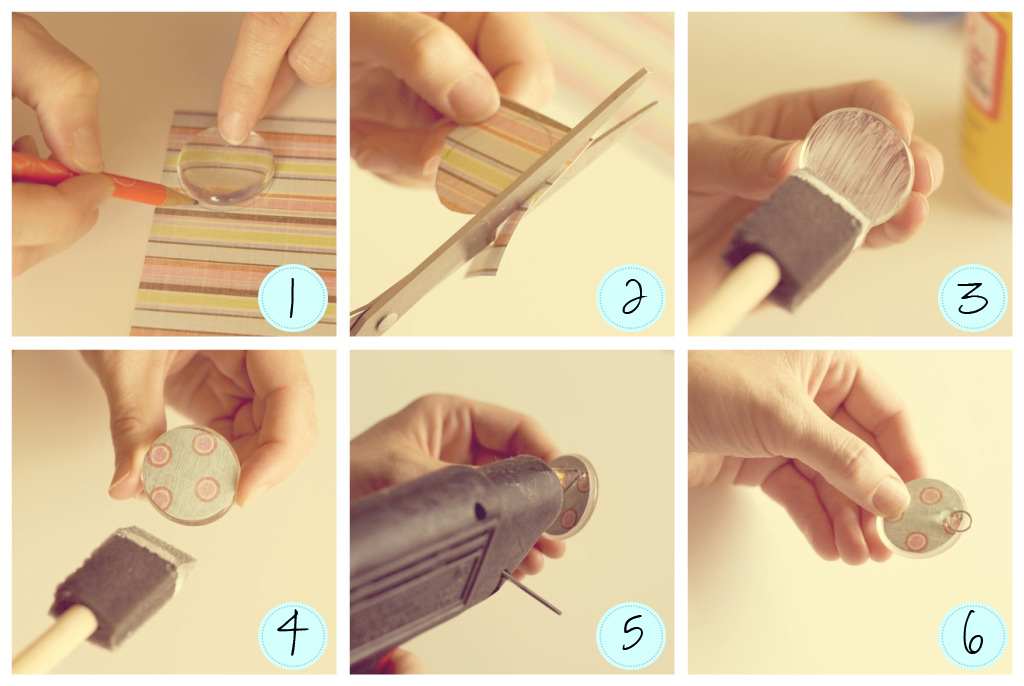 Ribbon Necklace Tutorial {make jewelry} | Tip Junkie