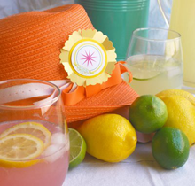 Lemonade Party Favors