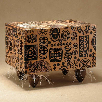 Adinkra Symbols Box by Tattoo Dreams